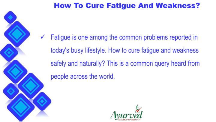 PPT - How To Cure Fatigue And Weakness With Herbal Supplements