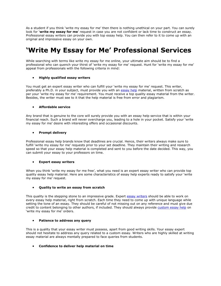 PPT - Write My Essay For Me PowerPoint Presentation - ID7682575