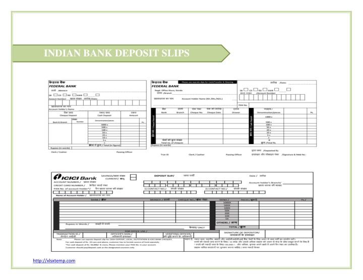 Icici Bank Deposit Slip Download