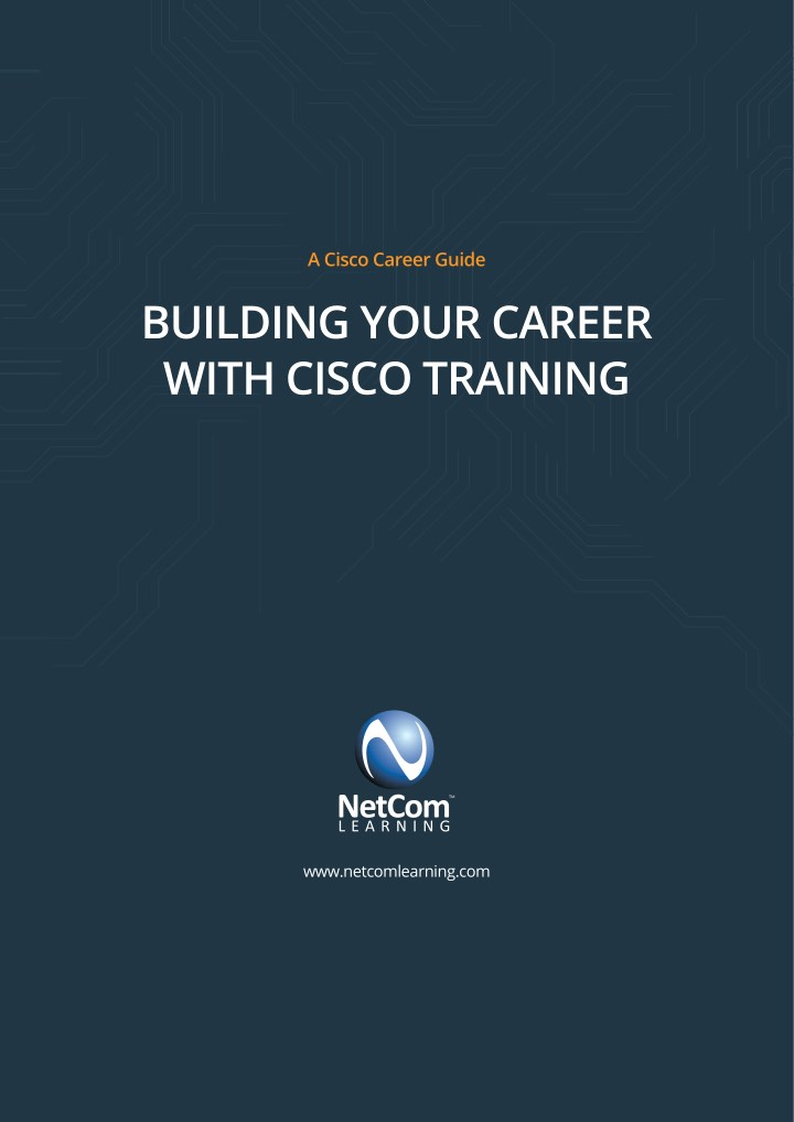 PPT - Building your career with cisco training ebook PowerPoint