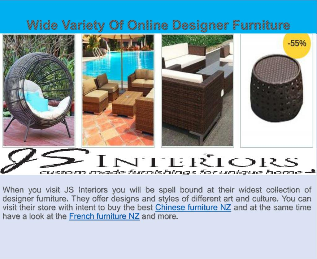 Ppt Enhance The Uniqueness Of Home With Custom Furniture Nz By - Outdoor Wicker Furniture Clearance Nz
