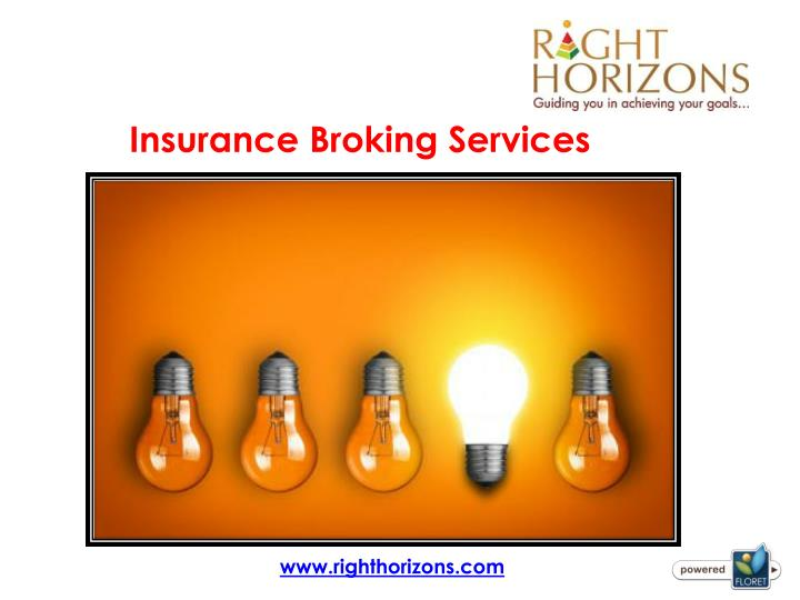 PPT - Insurance Broking Services PowerPoint Presentation - ID7921506