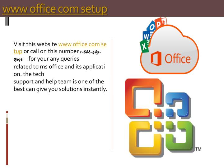 PPT - www office com setup PowerPoint Presentation - ID7967849