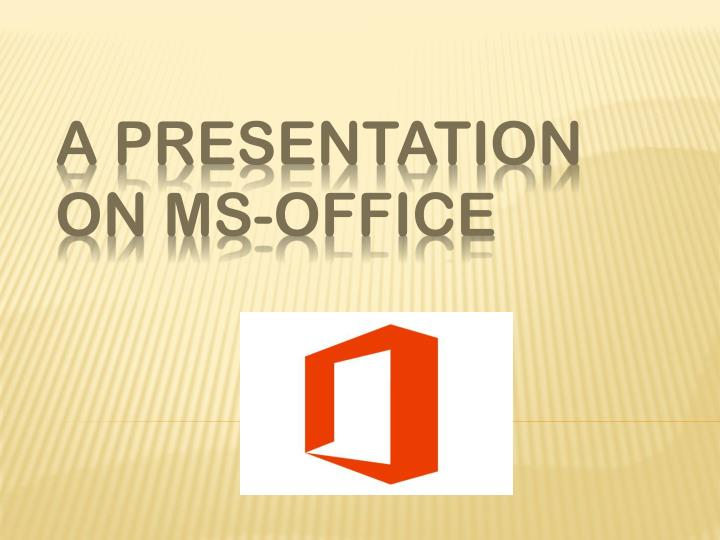 PPT - ms office setup PowerPoint Presentation - ID7973698