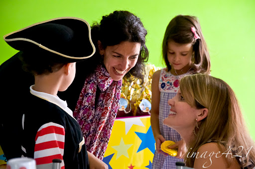 Telling a story: A pirate birthday party