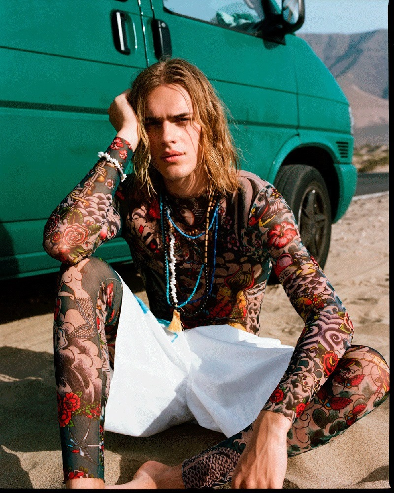 DSECTION MAGAZINE Ton Heukels by James White. Christopher Preston, Spring 2016, www.imageamplified.com, Image Amplified (2)