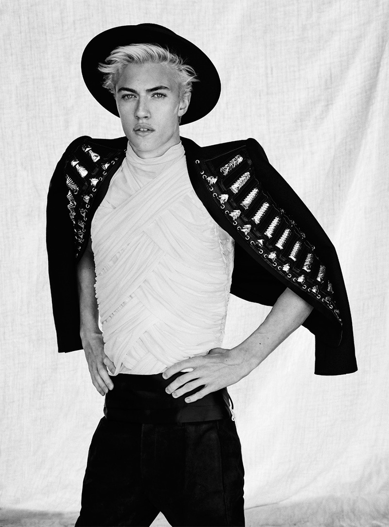 GQ STYLE TURKEY Lucky Blue Smith by Sergi Pons. Kaner Kivanc, Spring 2016, www.imageamplified.com, Image Amplified (9)