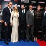 RED CARPET MOVIE PREMIERE: Captain America Civil War, Westfield Vue Cinema in London World Premiere