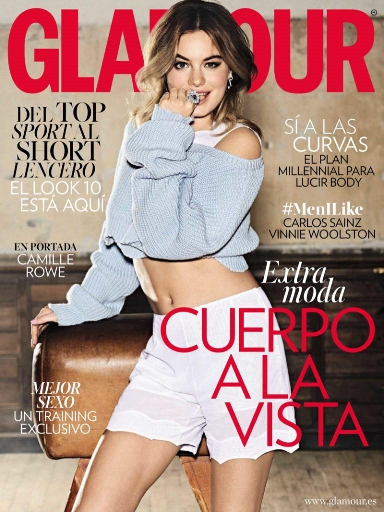 GLAMOUR SPAIN Camille Rowe by Paul Bellaart. Chiti Garcia, May 2016, www.imageamplified.com, Image Amplified (10)