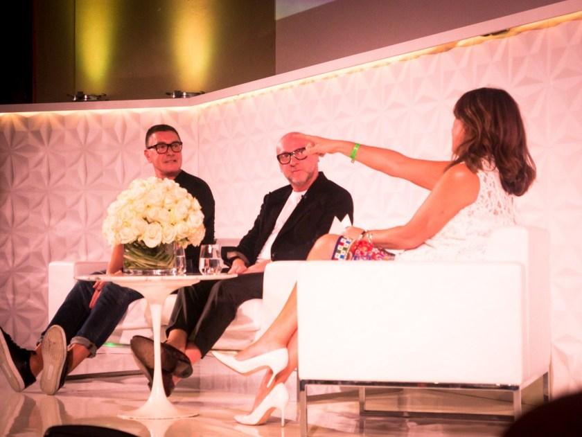 IA UPDATE Domenico Dolce & Stefano Gabbana, Dolce & Gabbana's Italian Journe with Alexandra Shulman at Vogue Festival 2016 by Troy Wise & Rick Guzman. www.imageamplified.com, Image Amplified (37)