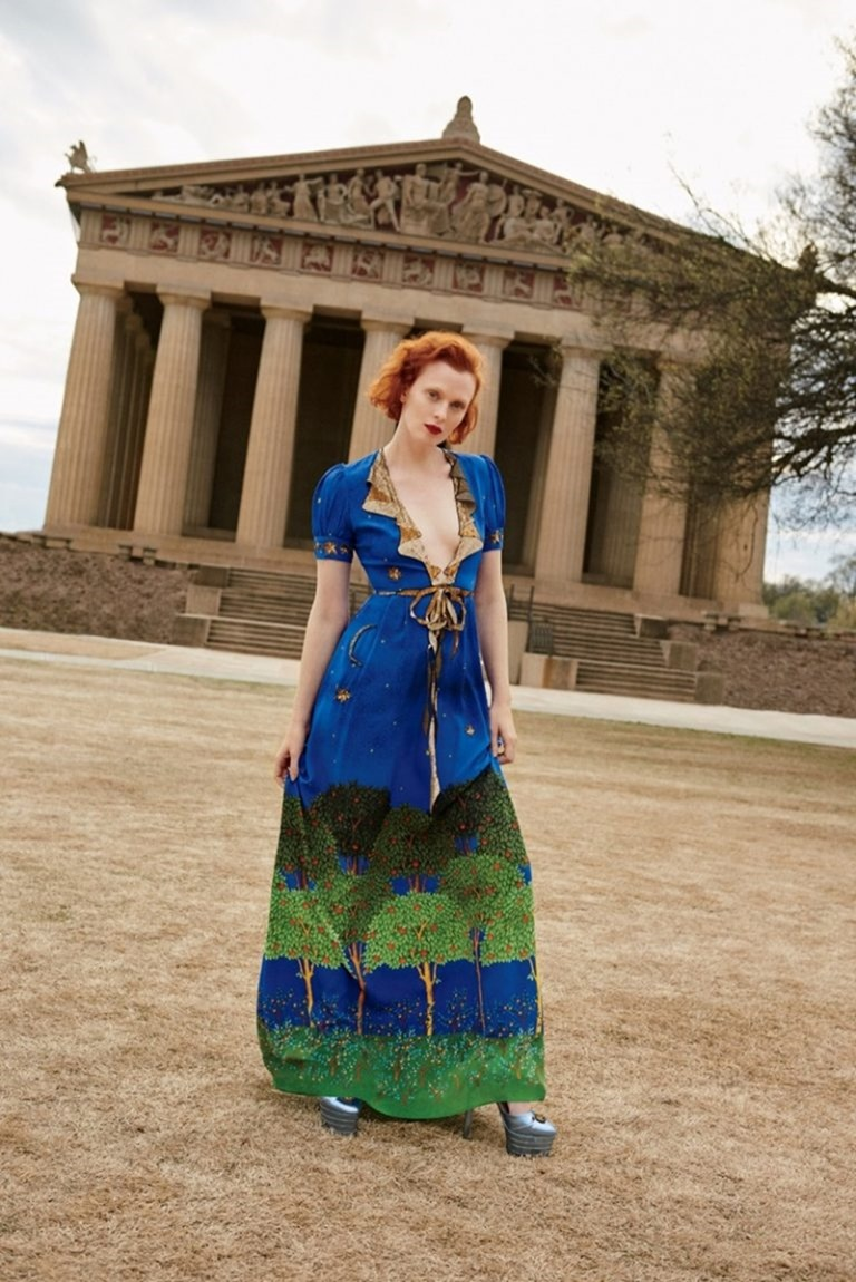 BERGDORF GOODMAN Karen Elson by Tung Walsh. Pre-Fall 2016, www.imageamplified.com, Image Amplified (4)