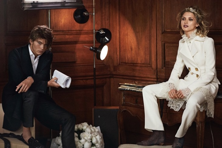CAMPAIGN Jordan Barrett for Ermanno Scervino Fall 2016 by Peter Lindbergh. www.imageamplified.com, Image Amplified (2)
