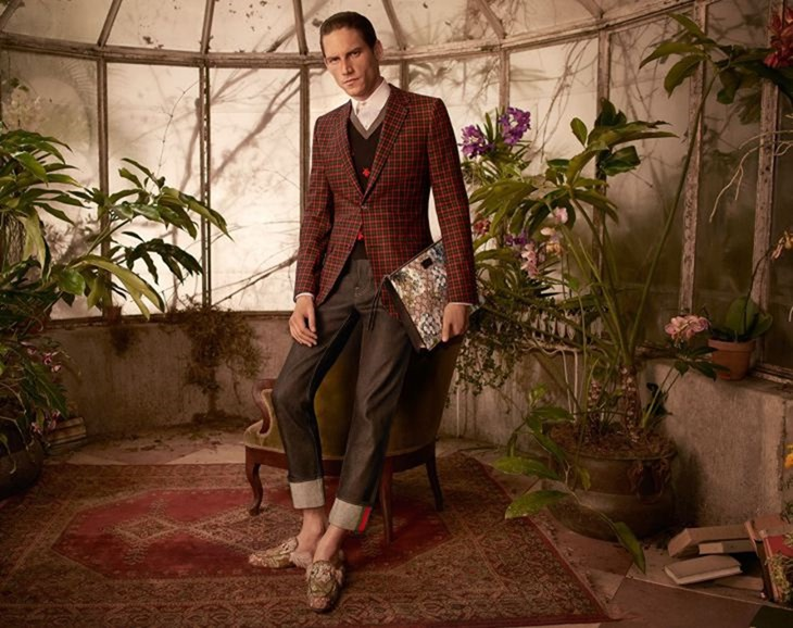 CAMPAIGN Roch Barbot for Gucci Tailoring Fall 2016 by Glen Luchford. www.imageamplified.com, Image Amplified (3)