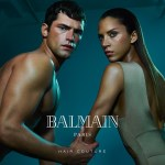 CAMPAIGN: Sean O'Pry & Noemie Lenoir for Balmain Hair Couture Summer 2016 by An Le
