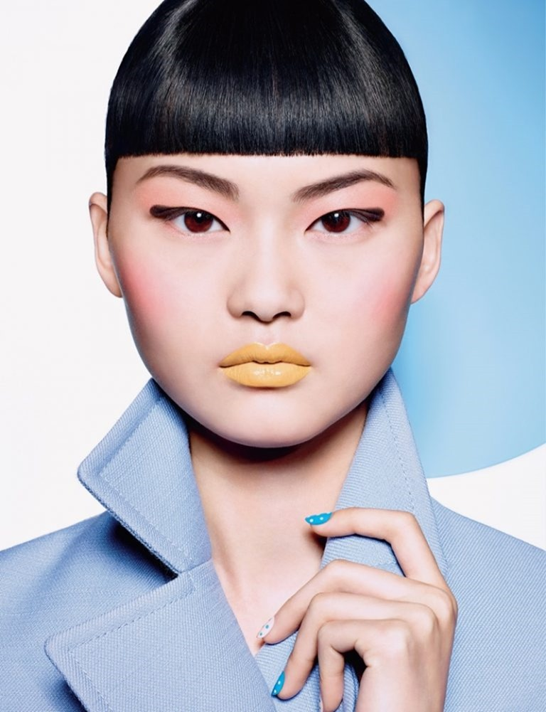 DIOR MAGAZINE He Cong by Richard Burbridge. Charlotte Collet, Spring 2016, www.imageamplified.com, Image Amplified (1)