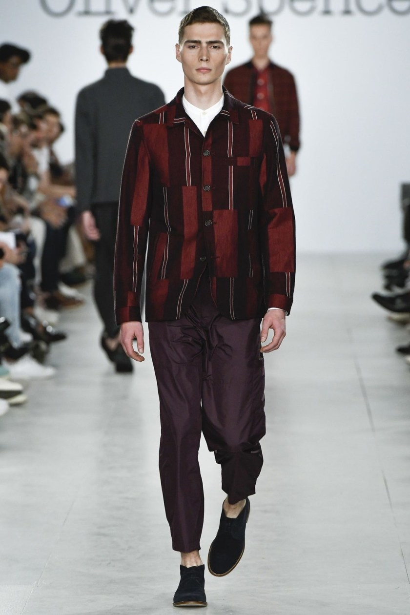 LONDON COLLECTIONS MEN Oliver Spencer Spring 2017. www.imageamplified.com, Image Amplified (13)