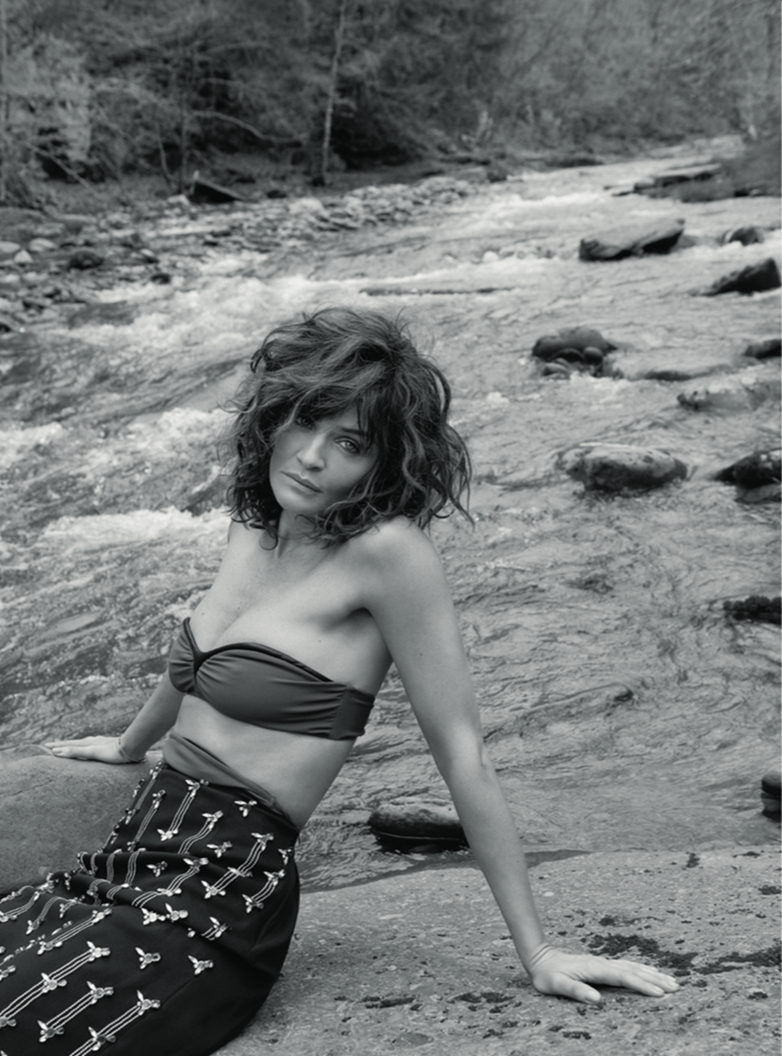 RUSSH MAGAZINE Helena Christensen by Tim Barber. Camilla Stark, Summer 2016, www.imageamplified.com, Image Amplified (5)