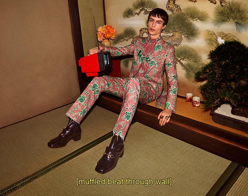 CAMPAIGN Gucci Menswear Fall 2016 by Glen Luchford. Joe McKenna, www.imageamplified.com, Image Amplified (5)