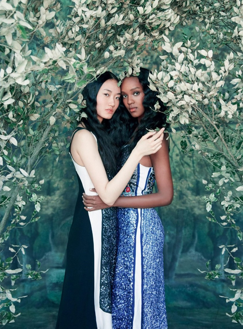 HARPER'S BAZAAR UK A Fresh Look At Fashion by Erik Madigan Heck. Leith Clark, August 2016, www.imageamplified.com, Image Amplified (20)