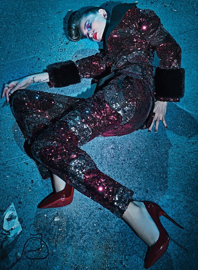 V MAGAZINE Killing It by Steven Klein. Patti Wilson, Fall 2016, www.imageamplified.com, Image Amplified (6)