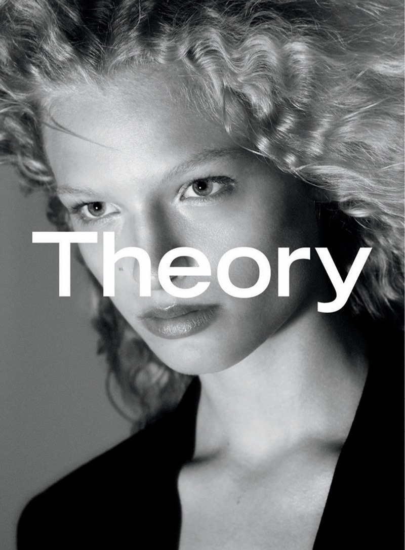 CAMPAIGN Frederikke Sofie & Binx Walton for Theory Fall 2016 by David Sims. www.imageamplified.com, image amplified2