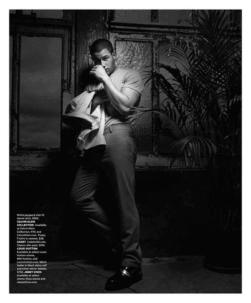 ESSENTIAL HOMME Nick Jonas by Greg Lotus. Terry Lu, Summer 2016, www.imageamplified.com, Image Amplified6