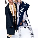 GLAMOUR MAGAZINE: Jaden Smith & Jasmine Sanders by Miguel Reveriego