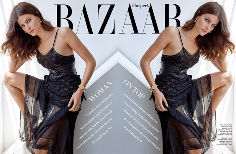 HARPER'S BAZAAR SINGAPORE Isabeli Fontana by Yu Tsai. Kemal Harris, August 2016, www.imageamplified.com, Image Amplified2