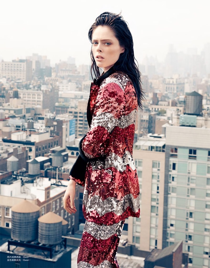 HARPER'S BAZAAR TAIWAN Coco Rocha by Matt Holyoak. Sarah Cobb, August 2016 www.imageamplified.com, Image Amplified7