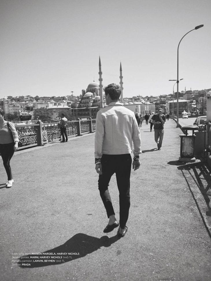 L'OFFICIEL HOMMES TURKEY Clement Chabernaud by Koray Birand. Aya Elkap, Summer 2016, www.imageamplified.com, Image Amplified11