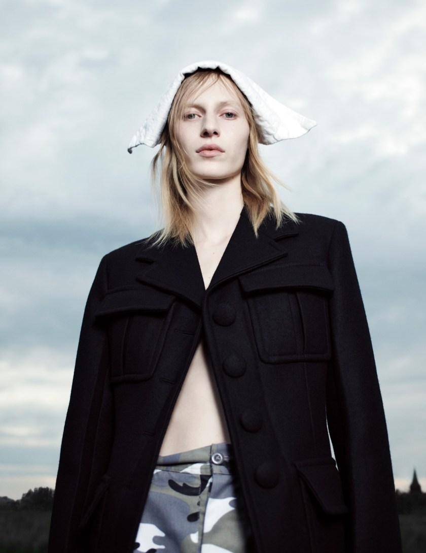 LOVE MAGAZINE Julia Nobis by Willy Vanderperre. Olivier Rizzo, Fall 2016, www.imageamplified.com, Image Amplified14