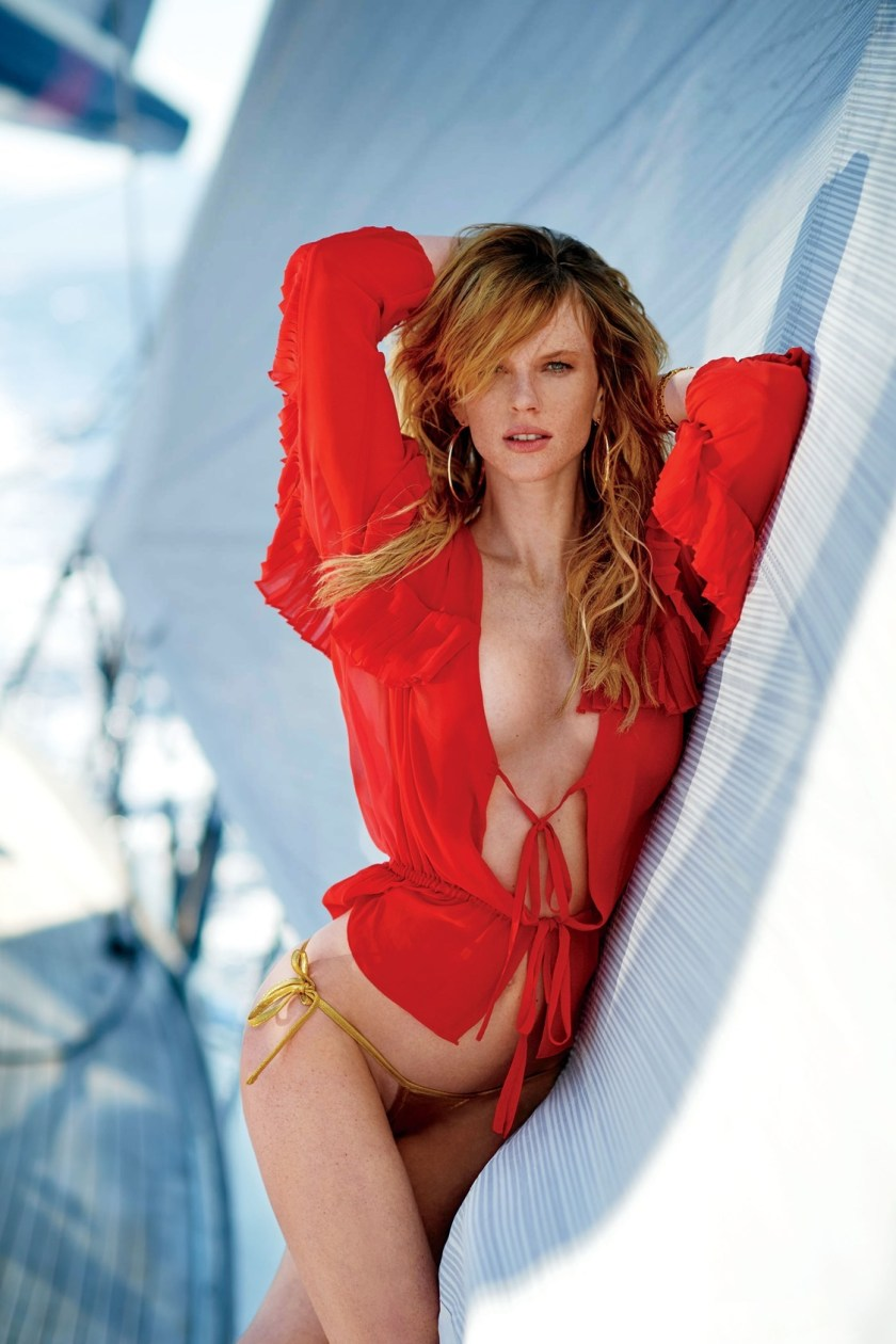 MAXIM MAGAZINE Anne Vyalitsyna by Gilles Bensimon. Caroline Christiansson, September 2016, www.imageamplified.com, Image Amplified2