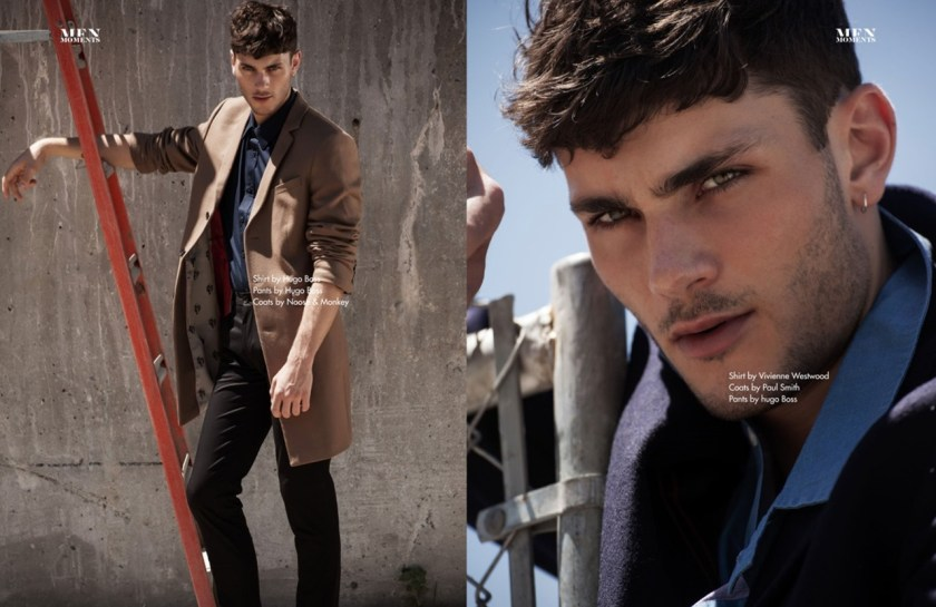 MEN MOMENTS Oscar Spendrup by Brent Chua. Jungle Lin, Fall 2016, www.imageamplified.com, Image Amplified5