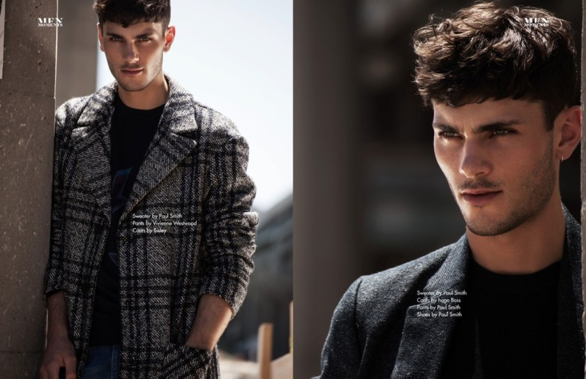 MEN MOMENTS Oscar Spendrup by Brent Chua. Jungle Lin, Fall 2016, www.imageamplified.com, Image Amplified6