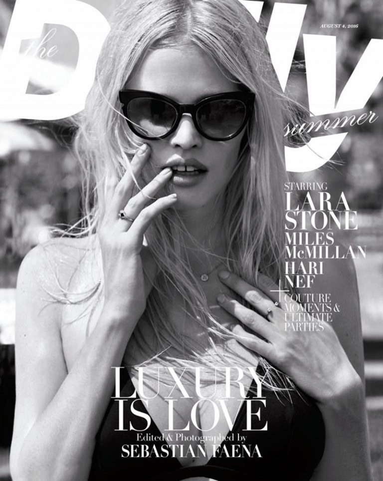 THE DAILY Lara Stone by Sebastian Faena. August 2016, www.imageamplified.com, Image Amplified (1)