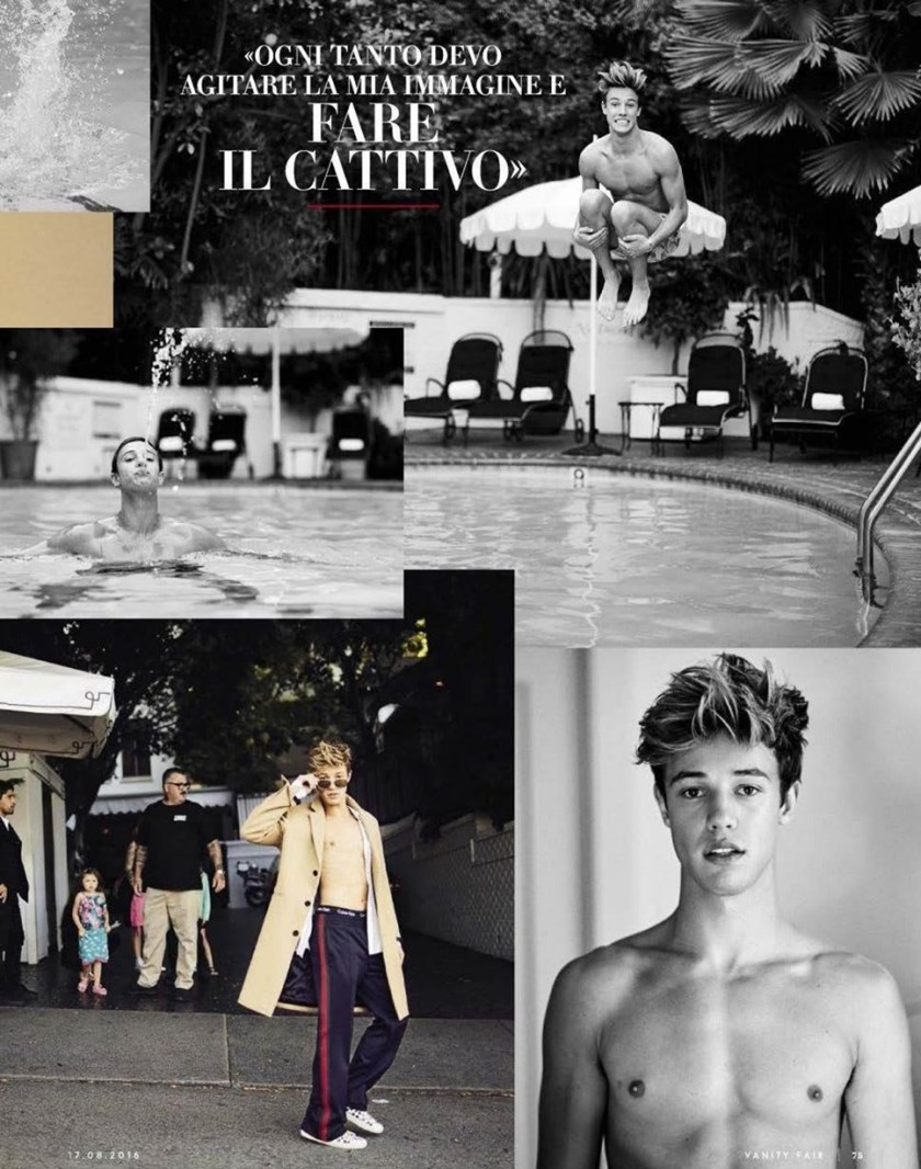VANITY FAIR ITALIA CAmeron Dallas by Mike Rosenthal. Wyman Chang, Summer 2016, www.imageamplified.com, Image Amplified (5)