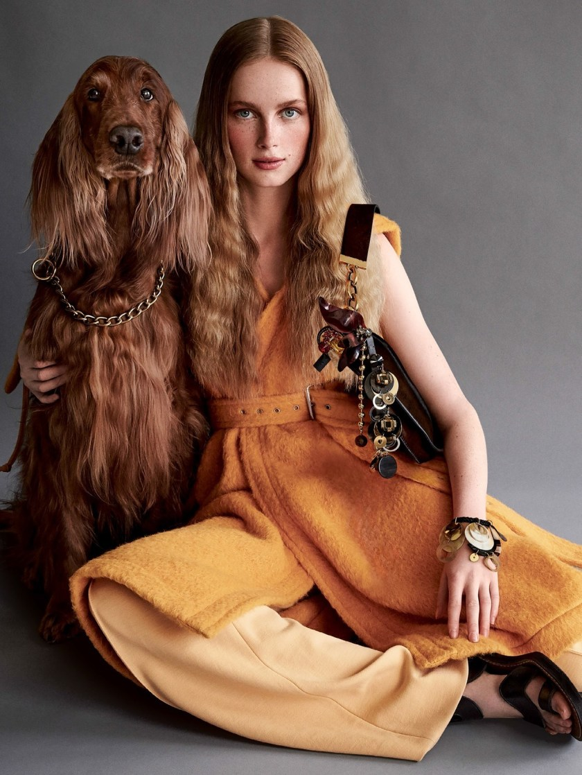 VOGUE MAGAZINE Pomp & Circumstance by Patrick Demarchelier. Sara Moonbes, September 2016, www.imageamplified.com, Image Amplified2