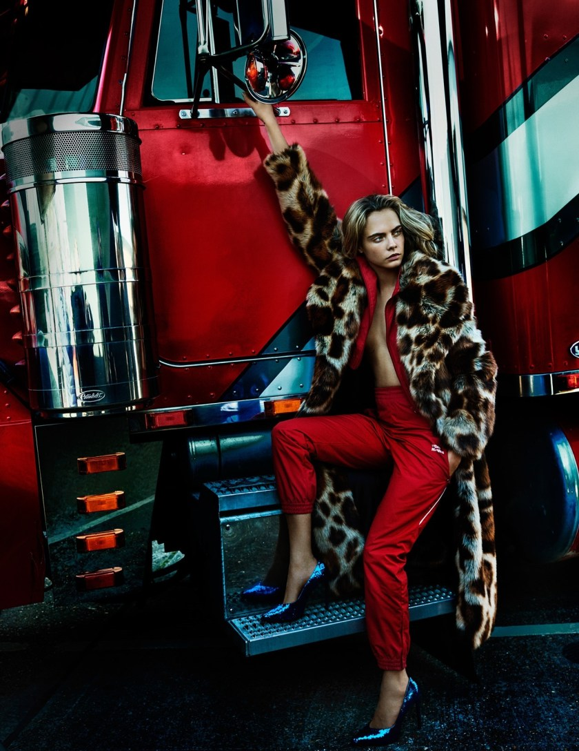 VOGUE UK Cara Delevingne by Mario Testing. Lucinda Chambers, September 2016, www.imageamplified.com, Image Amplified3