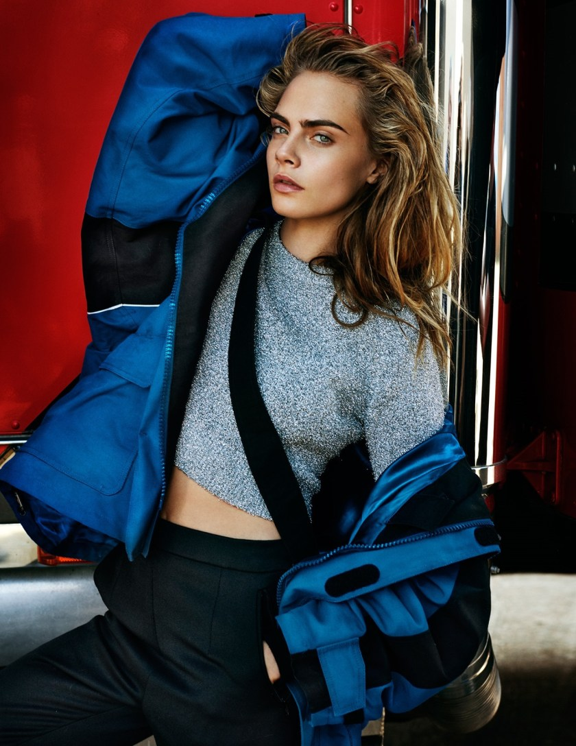 VOGUE UK Cara Delevingne by Mario Testing. Lucinda Chambers, September 2016, www.imageamplified.com, Image Amplified2