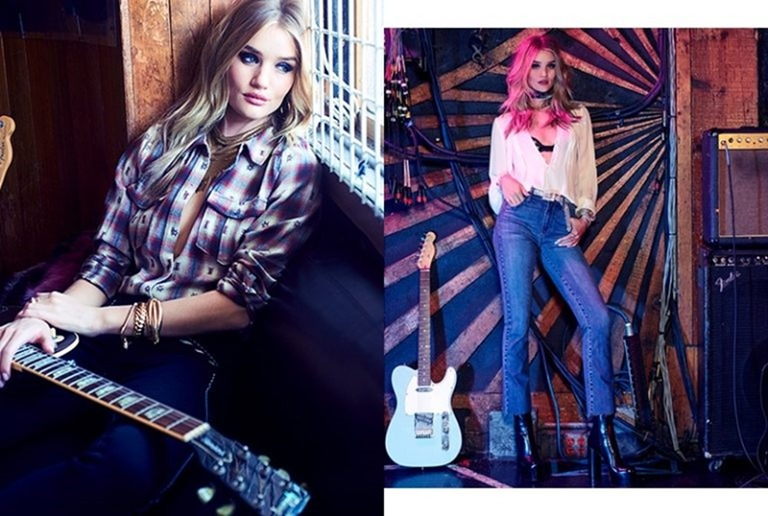 CAMPAIGN Rosie Huntington-Whiteley foro Paige Denim Fall 2016. www.imageamplified.com, Image Amplified (5)