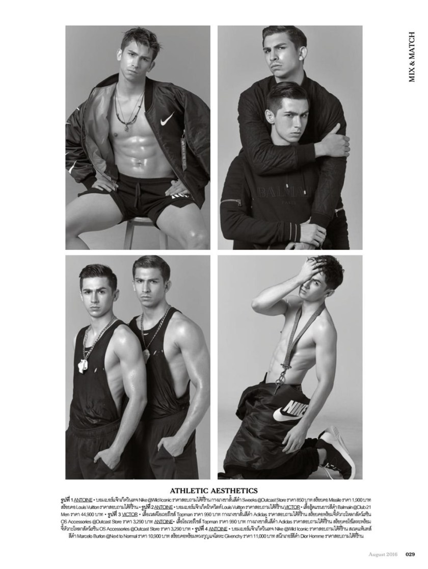 GARCON MAGAZINE Antoine Pinto & Victor Leo Pinto by Nucha Jaitip. Summer 2016, www.imageamplified.com, Image Amplified (2)