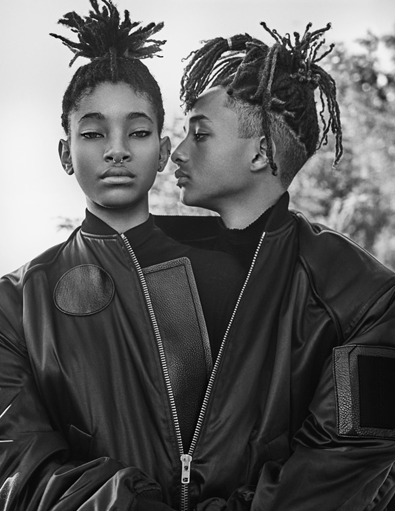 INTERVIEW MAGAZINE Jaden Smith & Willow Smith by Steven Klein. Karl Templer, September 2016, www.imageamplified.com, Image Amplified (1)