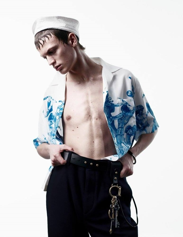 MAN ABOUT TOWN Cargo de nuit by Willy Vanderperre. Olivier Rizzo, Fall 2016, www.imageamplified.com, Image Amplified (24)