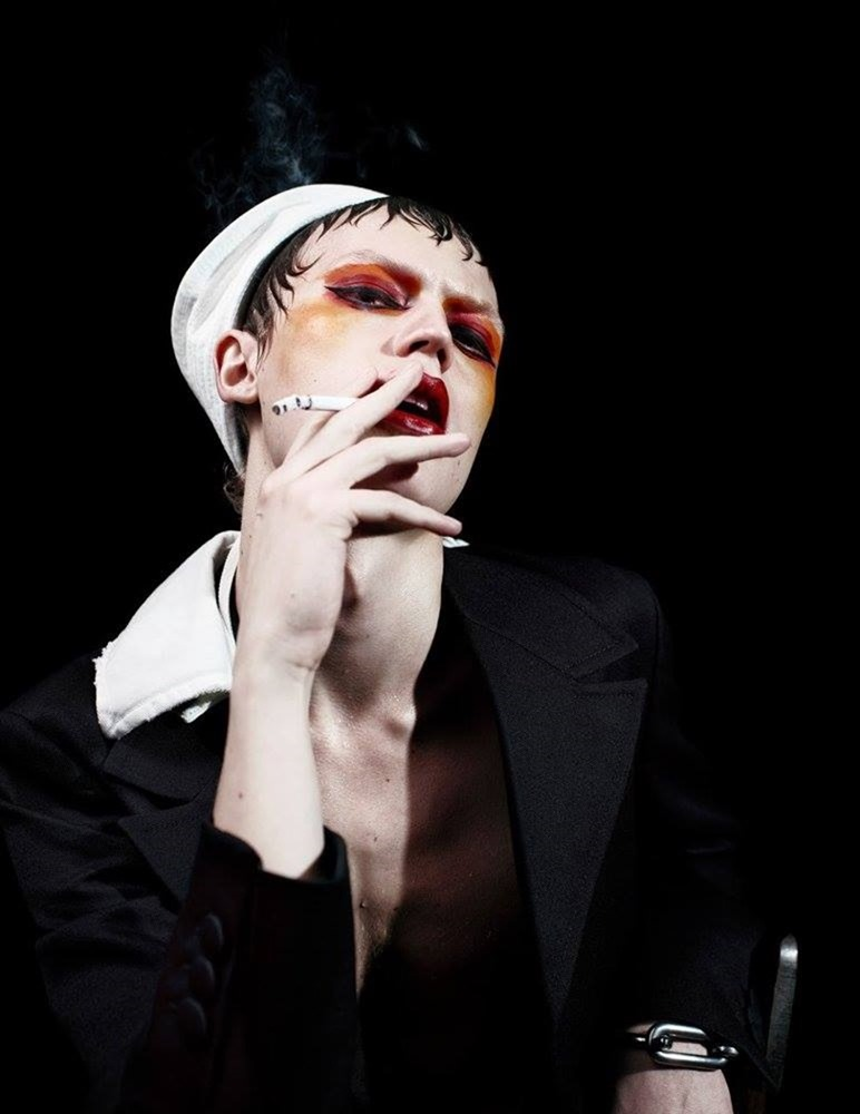 MAN ABOUT TOWN Cargo de nuit by Willy Vanderperre. Olivier Rizzo, Fall 2016, www.imageamplified.com, Image Amplified (32)