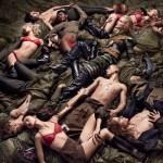 W MAGAZINE: Make Love Not War by Craig McDean