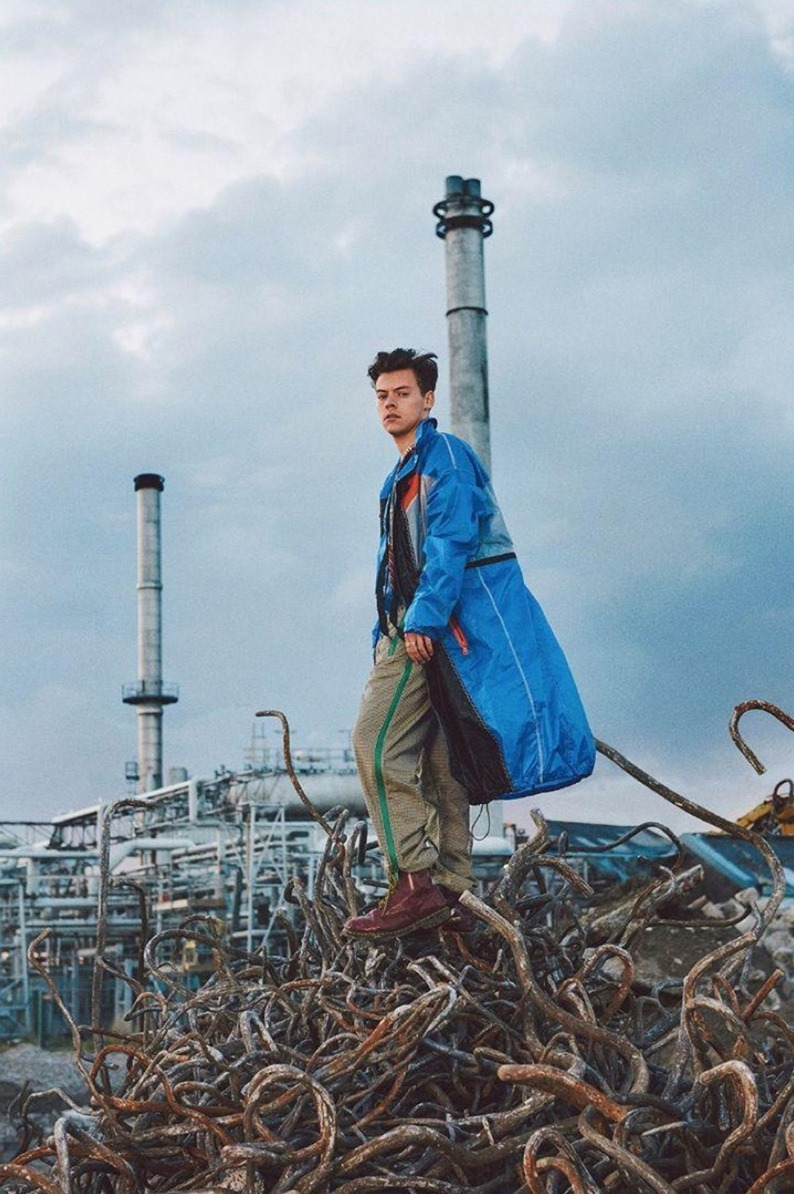 Glam Fall Background Wallpaper Another Man Magazine Harry Styles By Ryan Mcginley