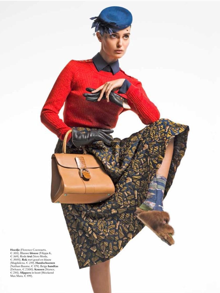 FEELING MAGAZINE Tania Onishchenko by Michael Smits. Ellen Monstrey, Fall 2016, www.imageamplified.com, Image Amplified