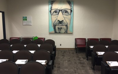 """Prosecutor's office objects to artist Bob Dorsey's """"Fifty"""" exhibition. Demand that the paintings be removed. 