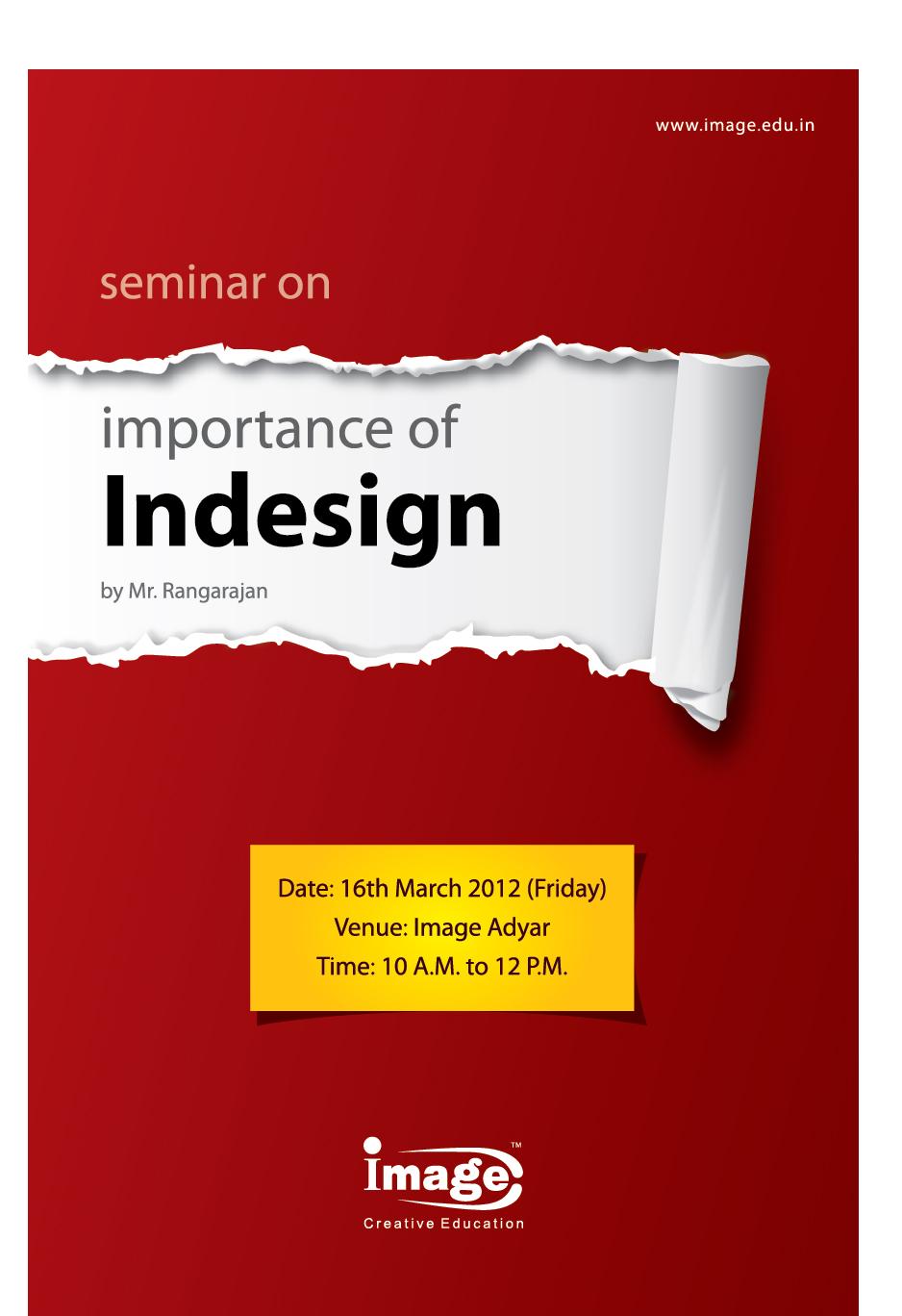 Poster design in indesign - Download