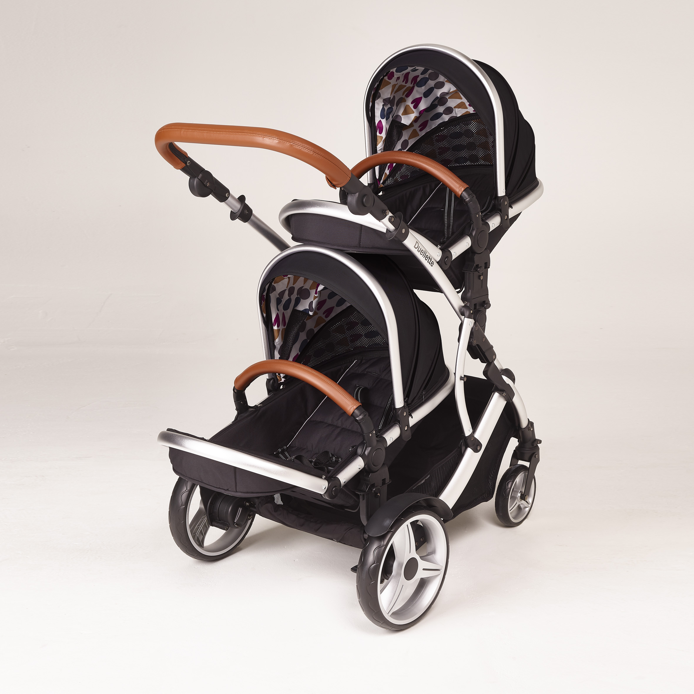 Travel System Tandem Stroller Double Pushchairs Prams And Travel Systems Image For Kids